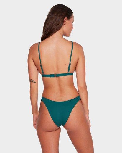 3 Sol Searcher Hi Point Tri Bikini Top Green 6591571 Billabong