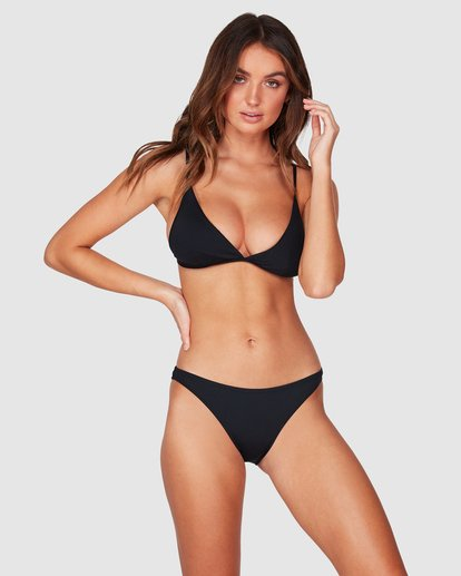 1 Sol Searcher Tropic Bikini Bottoms Black 6591574 Billabong
