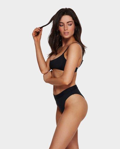 2 Sol Searcher Maui Rider Bikini Bottoms Black 6591575 Billabong