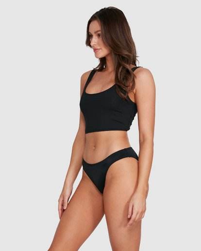 2 Sol Searcher Lowrider Bikini Bottoms Black 6591577 Billabong