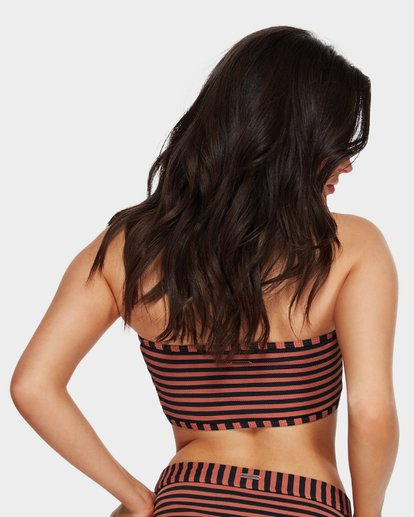 2 Seabreeze Bandeau Brown 6591597 Billabong