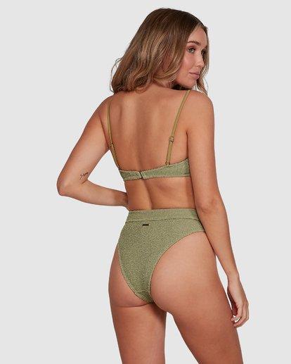 5 Summer High Bralette Bikini Top Green 6591606 Billabong