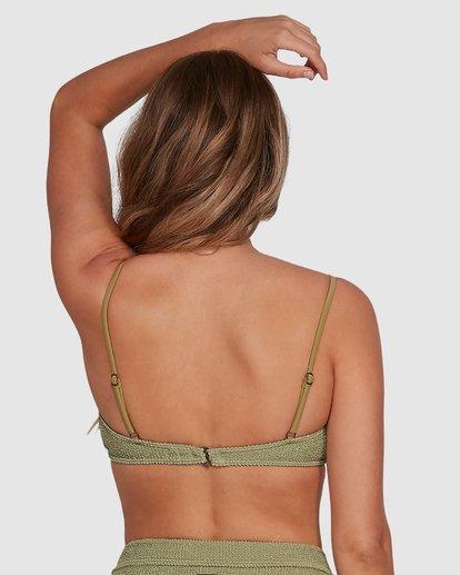 2 Summer High Bralette Bikini Top Green 6591606 Billabong