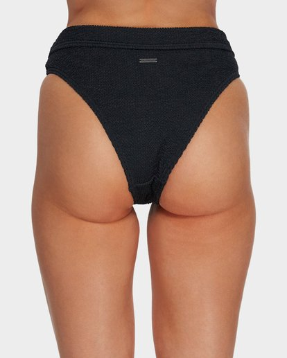 4 Summer High Maui Rider Bikini Bottoms Black 6591609 Billabong