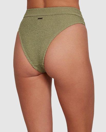 4 Summer High Maui Rider Bikini Bottoms Green 6591609 Billabong