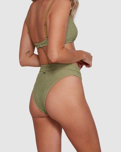 5 Summer High Maui Rider Bikini Bottoms Green 6591609 Billabong