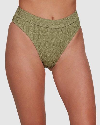 3 Summer High Maui Rider Bikini Bottoms Green 6591609 Billabong