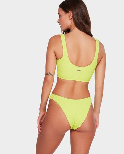 3 Summer High Hike Bikini Bottoms Green 6591610 Billabong