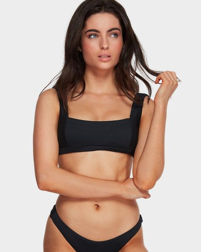 0 SAND DUNES SQUARE BIKINI TOP Black 6591619 Billabong