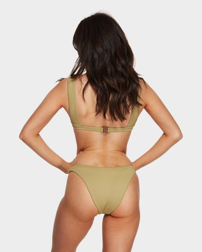 5 Sand Dunes Square Bikini Top Green 6591619 Billabong
