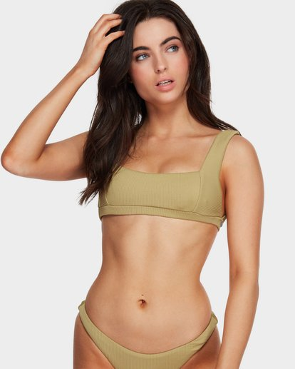 0 Sand Dunes Square Bikini Top Green 6591619 Billabong