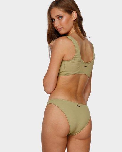 5 Sand Dunes Crop Bikini Top Green 6591621 Billabong