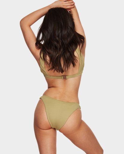 5 Sand Dunes Hike Bikini Bottoms Green 6591623 Billabong