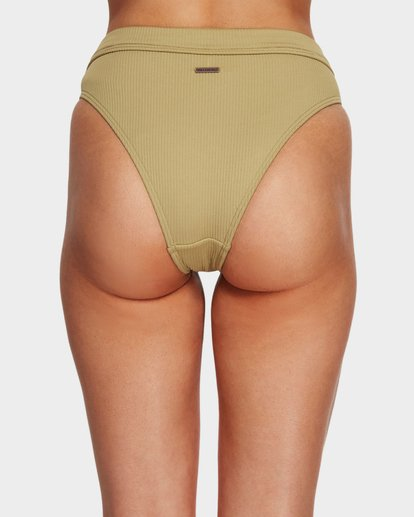 5 SAND DUNES MAUI RIDER BIKINI BOTTOMS Green 6591624 Billabong