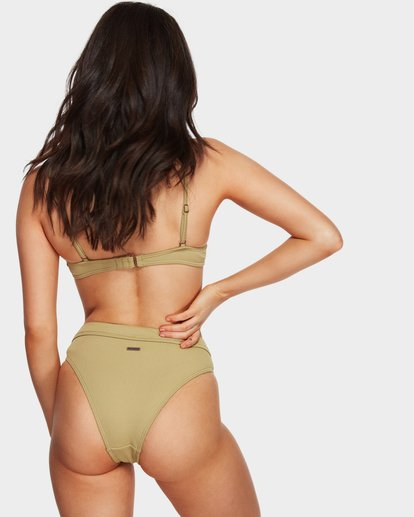 6 SAND DUNES MAUI RIDER BIKINI BOTTOMS Green 6591624 Billabong