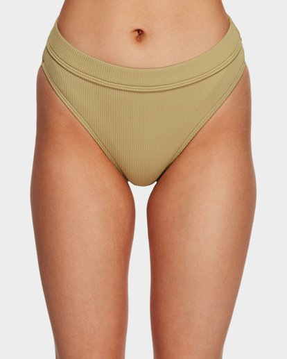 4 SAND DUNES MAUI RIDER BIKINI BOTTOMS Green 6591624 Billabong