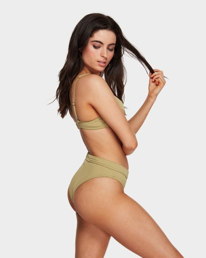 3 SAND DUNES MAUI RIDER BIKINI BOTTOMS Green 6591624 Billabong