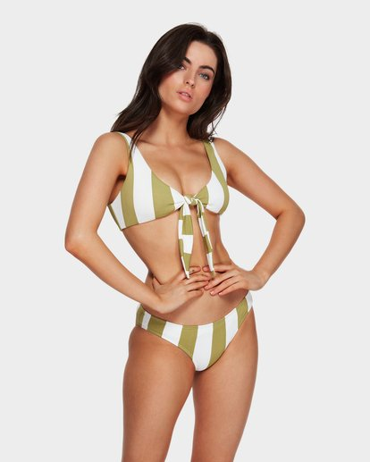 3 Sunray Two Ways Tie Bikini Top Green 6591626 Billabong