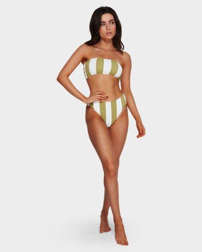 6 Sunray Bandeau Bikini Top Green 6591627 Billabong