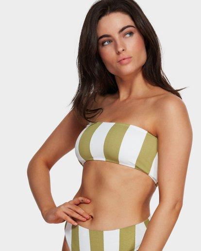 0 Sunray Bandeau Bikini Top Green 6591627 Billabong