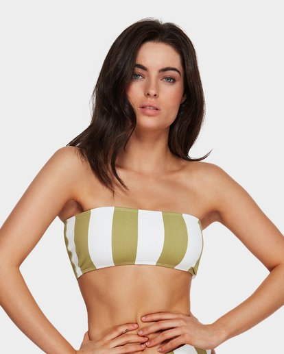 1 Sunray Bandeau Bikini Top Green 6591627 Billabong