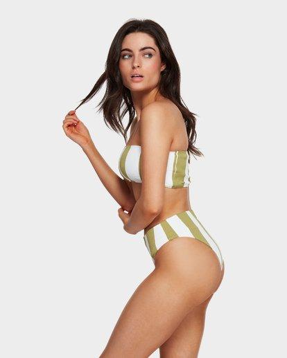 4 Sunray Bandeau Bikini Top Green 6591627 Billabong