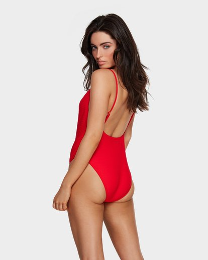 2 TANLINES ONE PIECE Red 6591636 Billabong