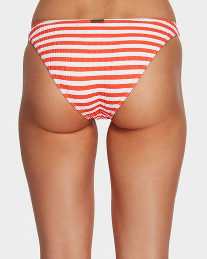 4 Suns Out Tropic Stripe Bikini Bottoms Orange 6591645 Billabong
