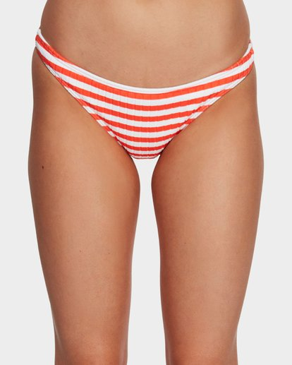 3 Suns Out Tropic Stripe Bikini Bottoms Orange 6591645 Billabong