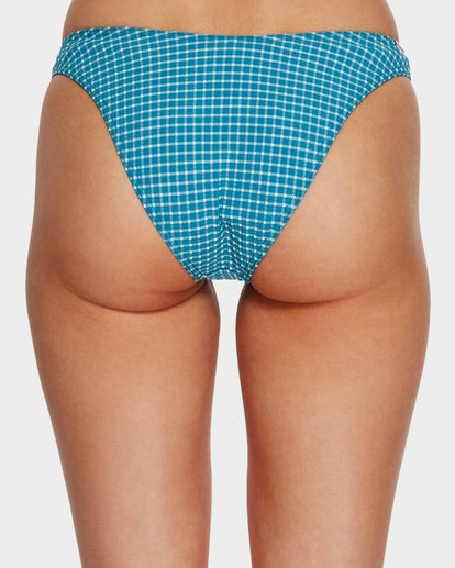 3 SURF CHECK HIKE BIKINI BOTTOMS Blue 6591650 Billabong