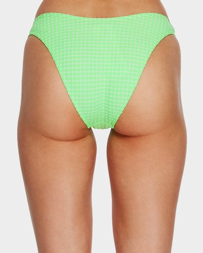 3 Surf Check Hike Bikini Bottoms Green 6591650 Billabong