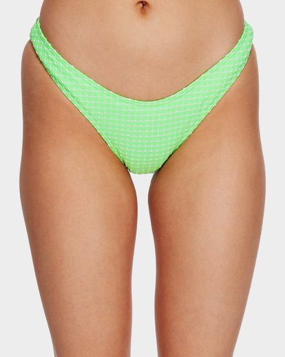 2 Surf Check Hike Bikini Bottoms Green 6591650 Billabong