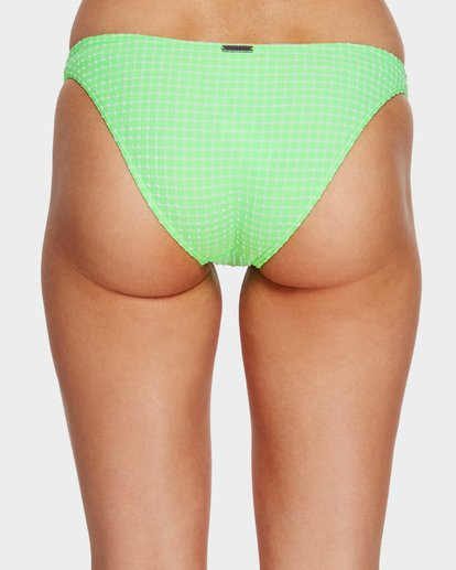 4 Surf Check Tropic Bikini Bottoms Green 6591651 Billabong