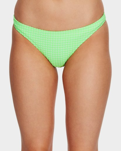 3 Surf Check Tropic Bikini Bottoms Green 6591651 Billabong