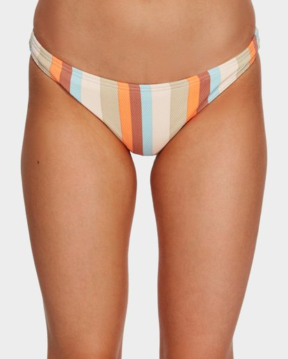 4 Rainbow Stripe Tropic Bikini Bottoms White 6591661 Billabong