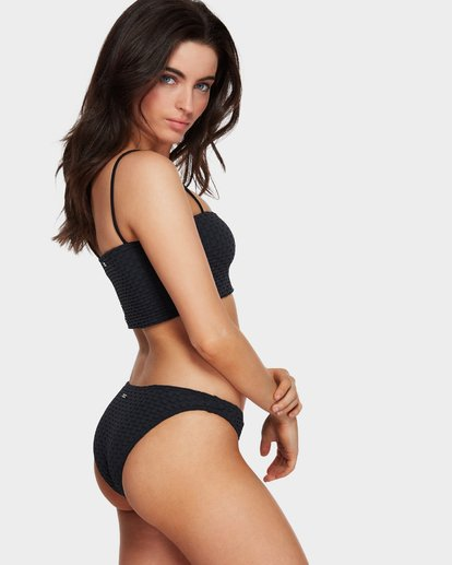 0 Lovelock Tropic Bikini Bottom Black 6591666 Billabong