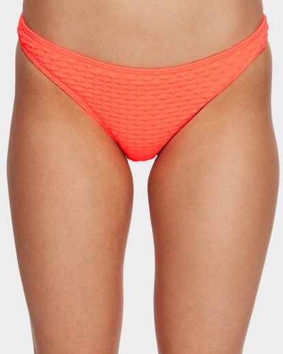 4 Lovelock Tropic Bikini Bottom Orange 6591666 Billabong
