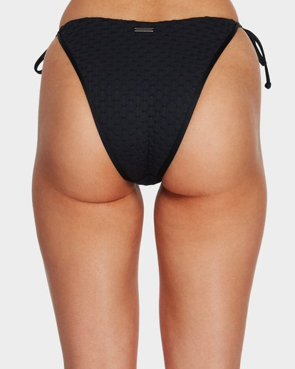 4 LOVELOCK SKINNY BIARRITZ BIKINI BOTTOMS Black 6591667 Billabong