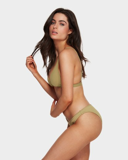 4 SAND DUNES HI POINT TRI BIKINI TOP Green 6591677 Billabong
