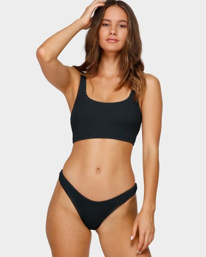 3 SUMMER HIGH CROP BIKINI TOP Black 6591680 Billabong