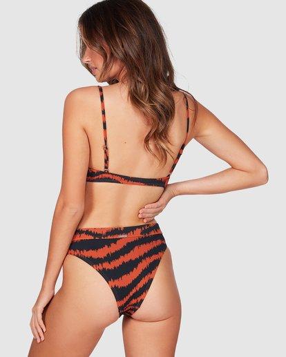 3 Tigress Maui Rider Bikini Bottom Black 6591691M Billabong