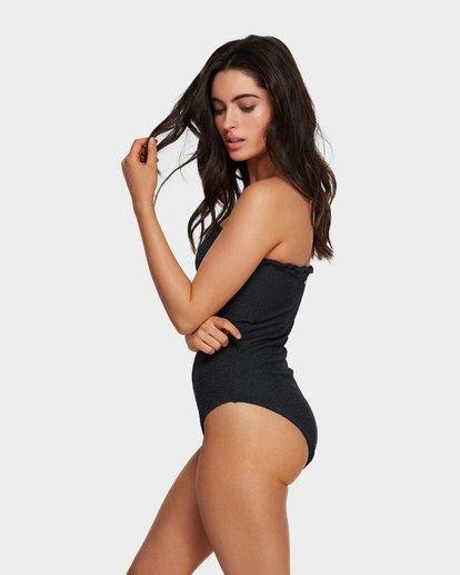 2 SUMMER HIGH BANDEAU ONE PIECE Black 6591698 Billabong