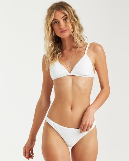 1 TANLINES FIXED TRI BIKINI TOP White 6591721X Billabong