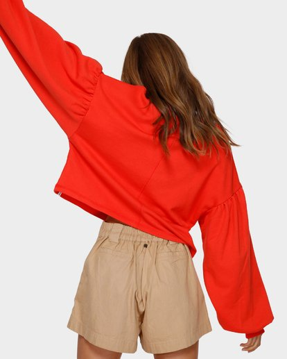 3 Dancer Crew Jumper Orange 6591733 Billabong