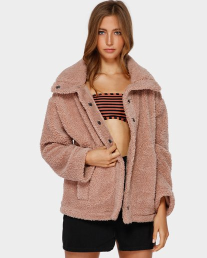 3 COZY DAYS JACKET Beige 6591735 Billabong