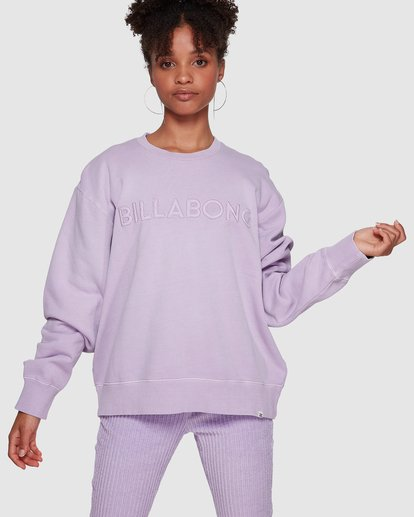0 Dawn Break Crew Purple 6591737M Billabong
