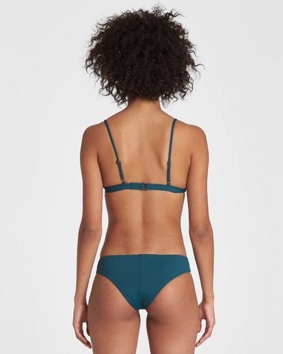 2 SOL SEARCHER FIXED TRI BIKINI TOP Green 6591739X Billabong