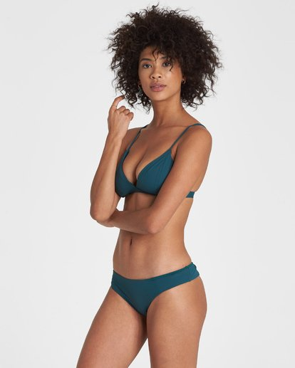 1 SOL SEARCHER FIXED TRI BIKINI TOP Green 6591739X Billabong