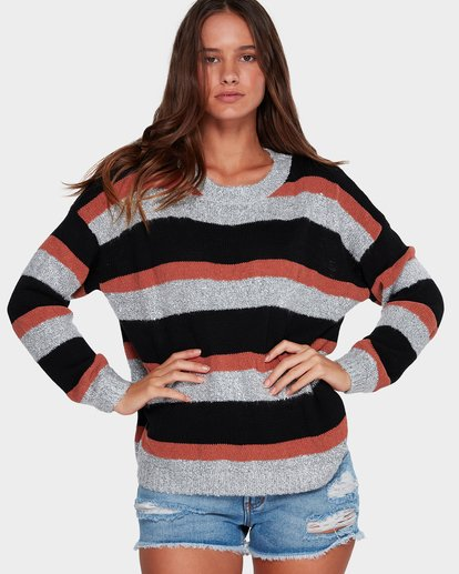 0 BOLD MOVES SWEATER Brown 6591793X Billabong