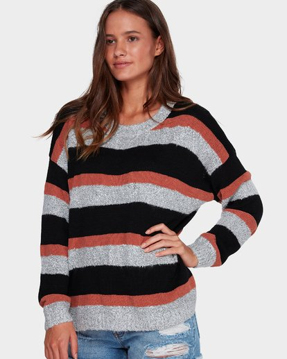1 BOLD MOVES SWEATER Brown 6591793X Billabong